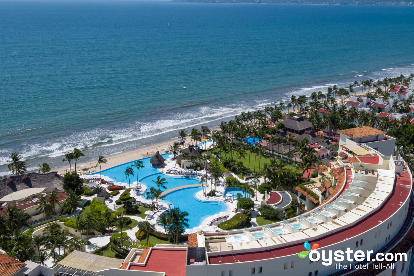 Aerial View of Grand Velas Riviera Nayarit/Oyster