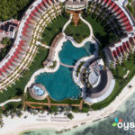 Aerial View of Grand Velas Riviera Maya/Oyster