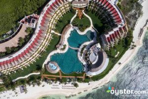 Aerial View of Grand Velas Riviera Maya/Oyster