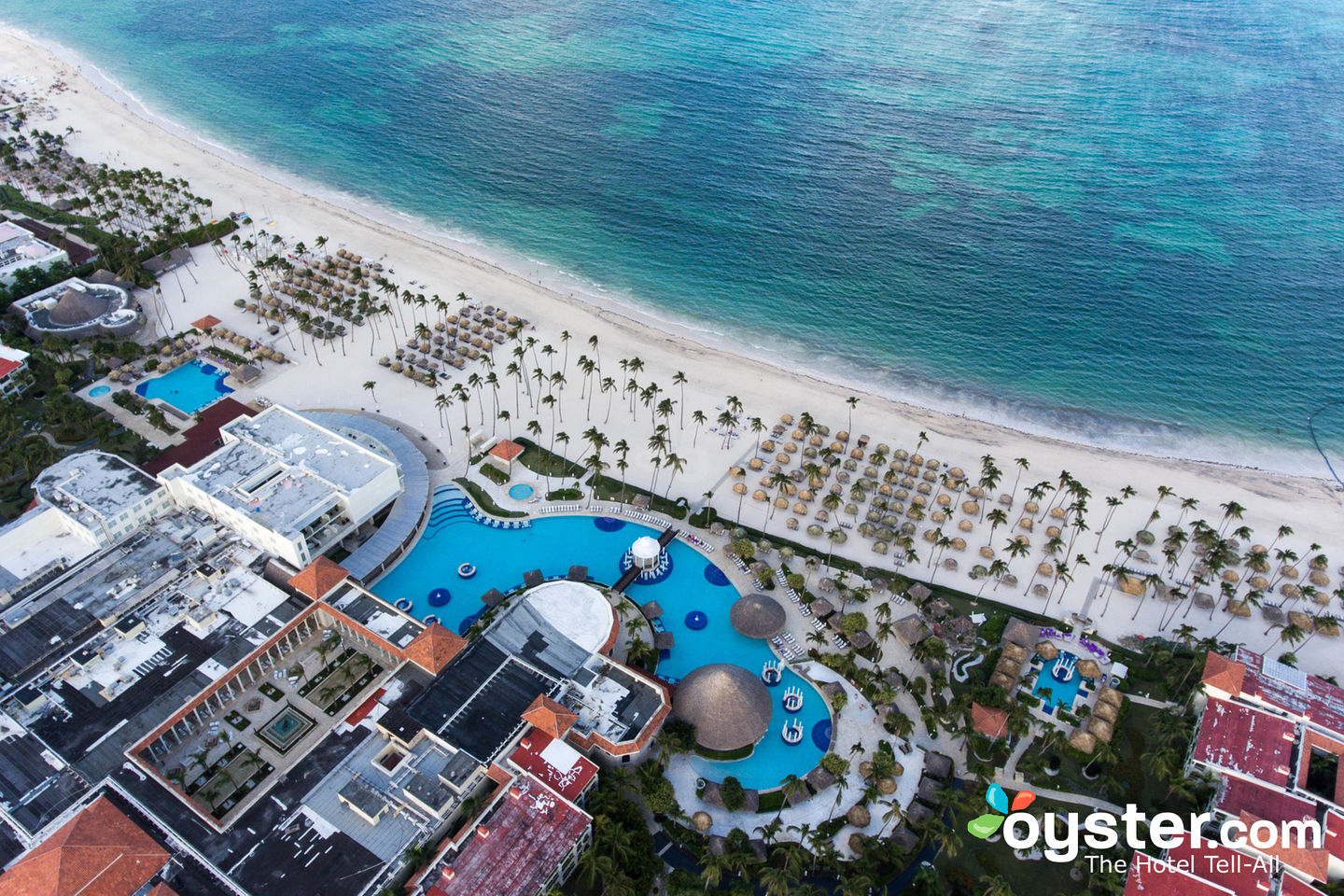 Aerial View of Paradisus Palma Real Golf & Spa Resort/Oyster