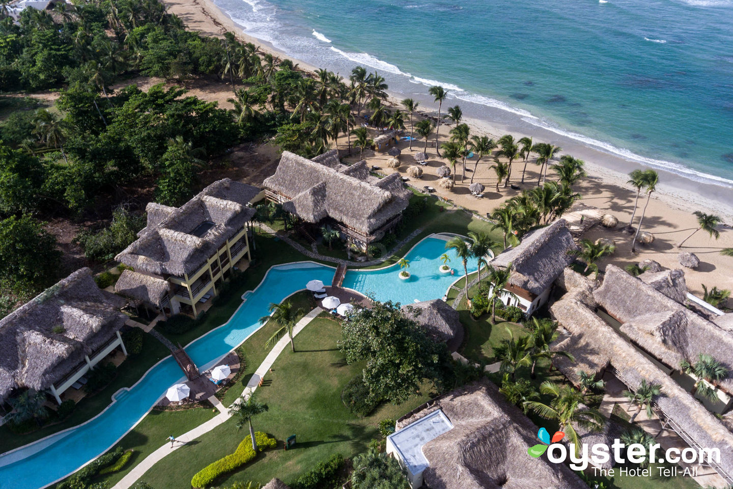 Aerial View of Zoetry Agua Punta Cana/Oyster