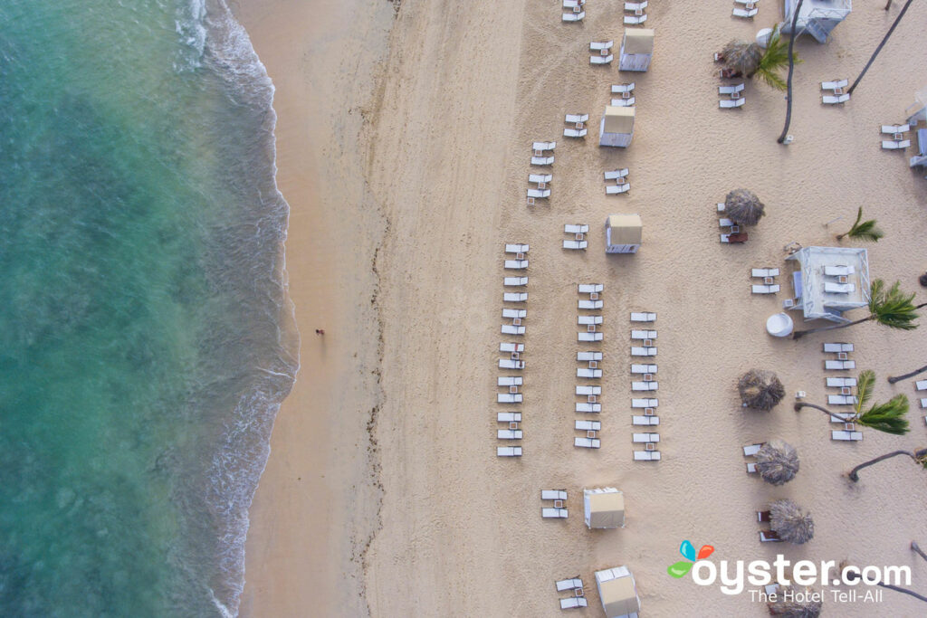 Aerial View of Breathless Punta Cana Resort & Spa/Oyster