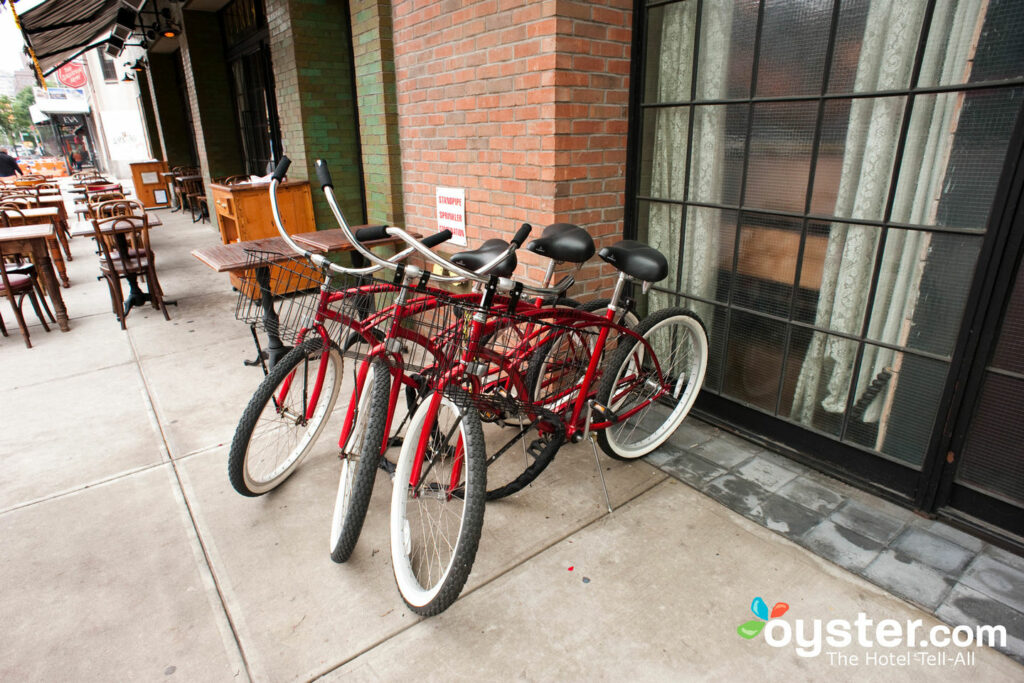 Bikes at The Bowery Hotel