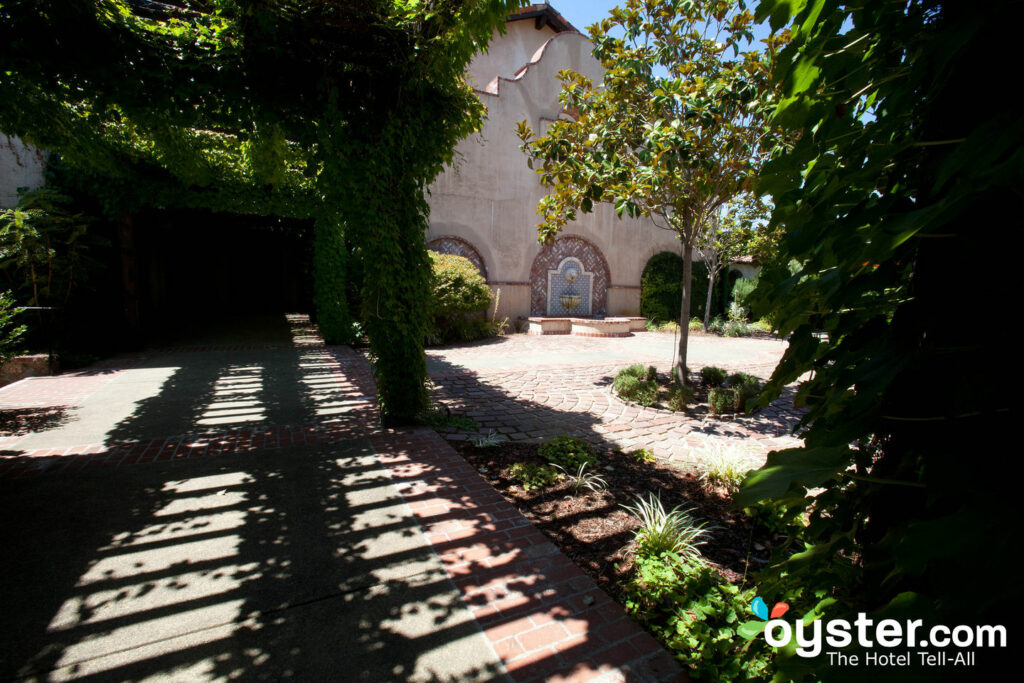 The Fairmont Sonoma Mission Inn & Spa has mission-style architecture.