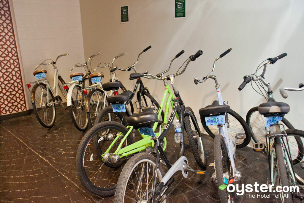 Bikes at Hotel Monaco Portland