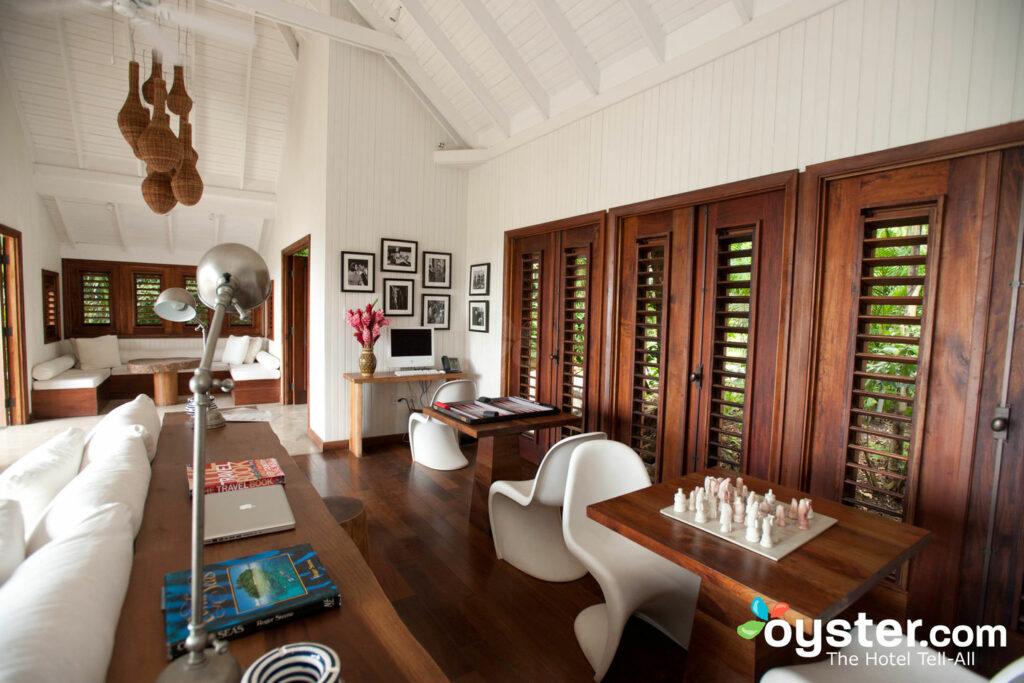 Fleming Lounge en el GoldenEye Hotel & Resort en Jamaica