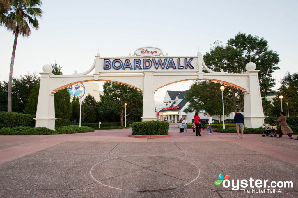 Disney's Boardwalk Villas are a great place to stay if you want to be right in the action.
