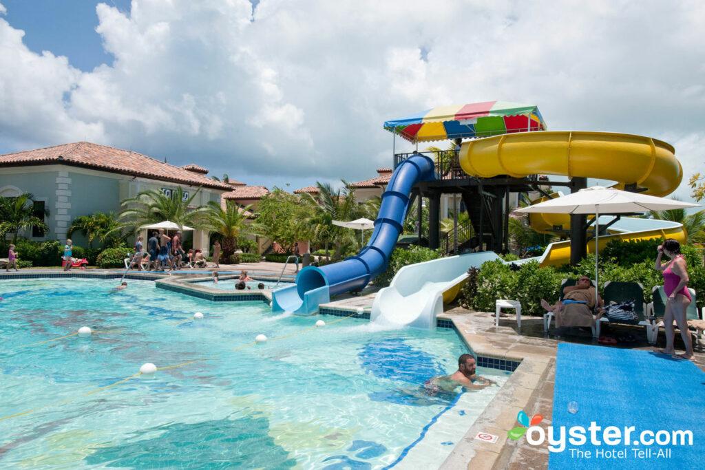 Pirates Island Waterpark an den Stränden Turks und Caicos Resort Villages und Spa