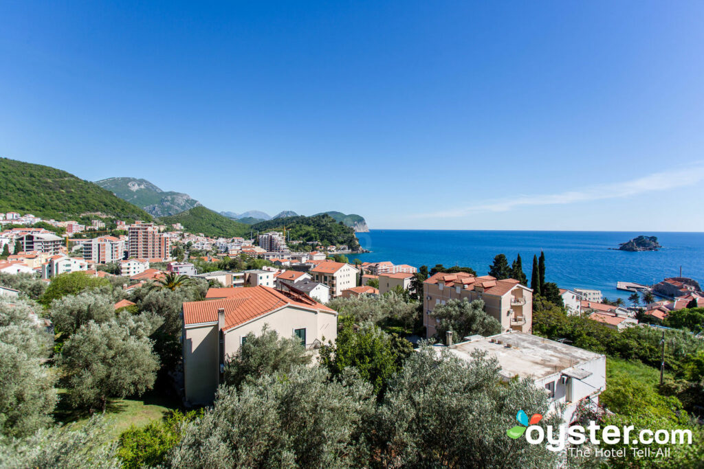 View from Medin Apartments, Petrovac/Oyster