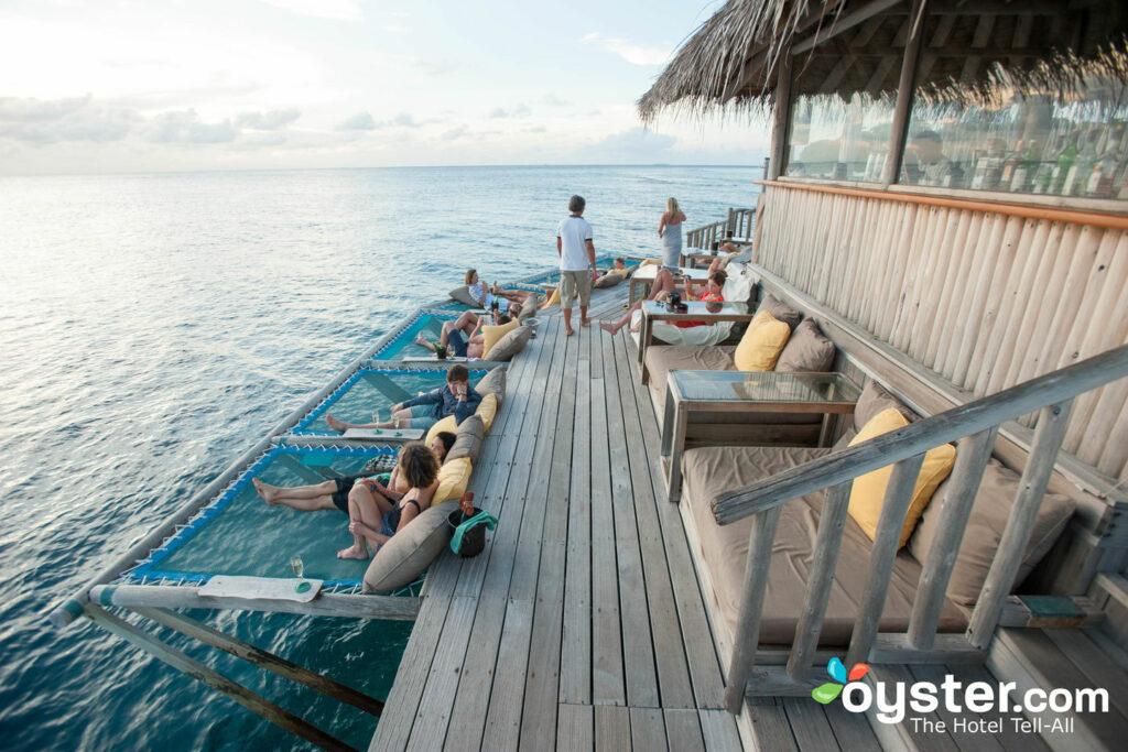 Bar at Soneva Fushi Maldives