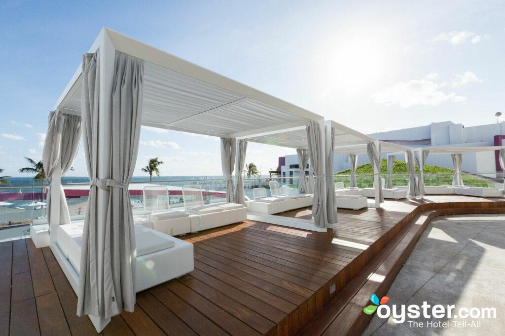 Pool area at Temptation Cancun Resort
