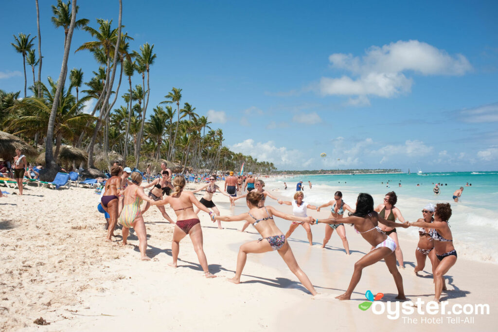 Beach fun at Grand Palladium Punta Cana Resort & Spa, Dominican Republic