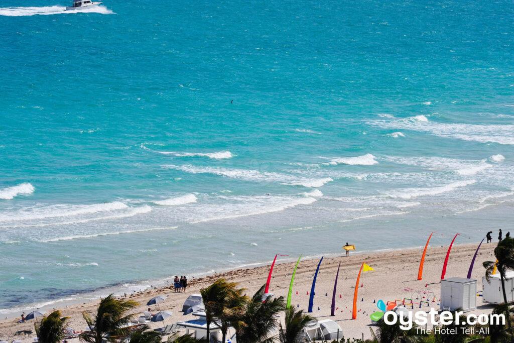 Beach at the Fontainebleau Resort Miami Beach