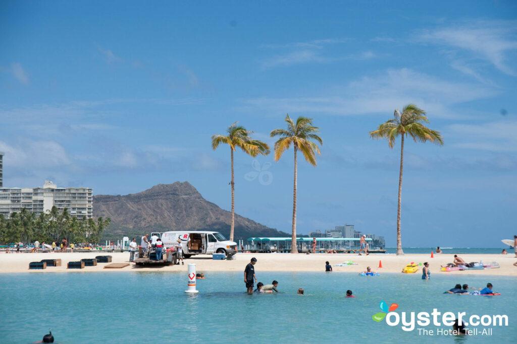 Beach at Grand Waikikian by Hilton Grand Vacations Club