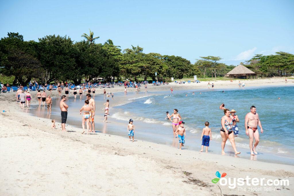 Beach at the Iberostar Costa Dorada