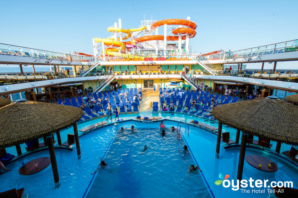The Beach Pool on Carnival Vista/Oyster