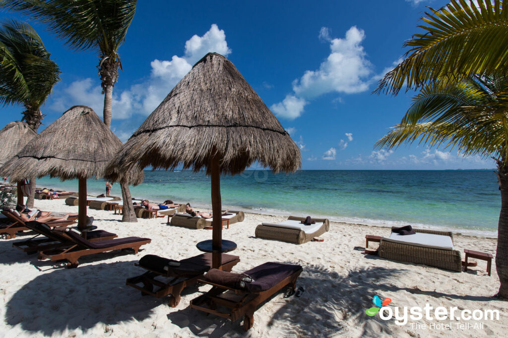 Beach at Excellence Playa Mujeres