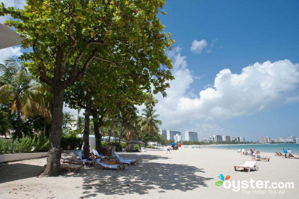 La playa en San Juan