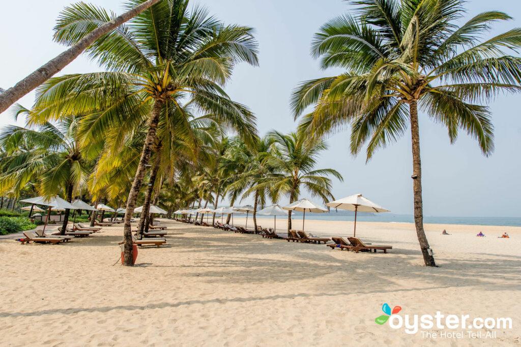 Playa en el Leela Goa / Oyster