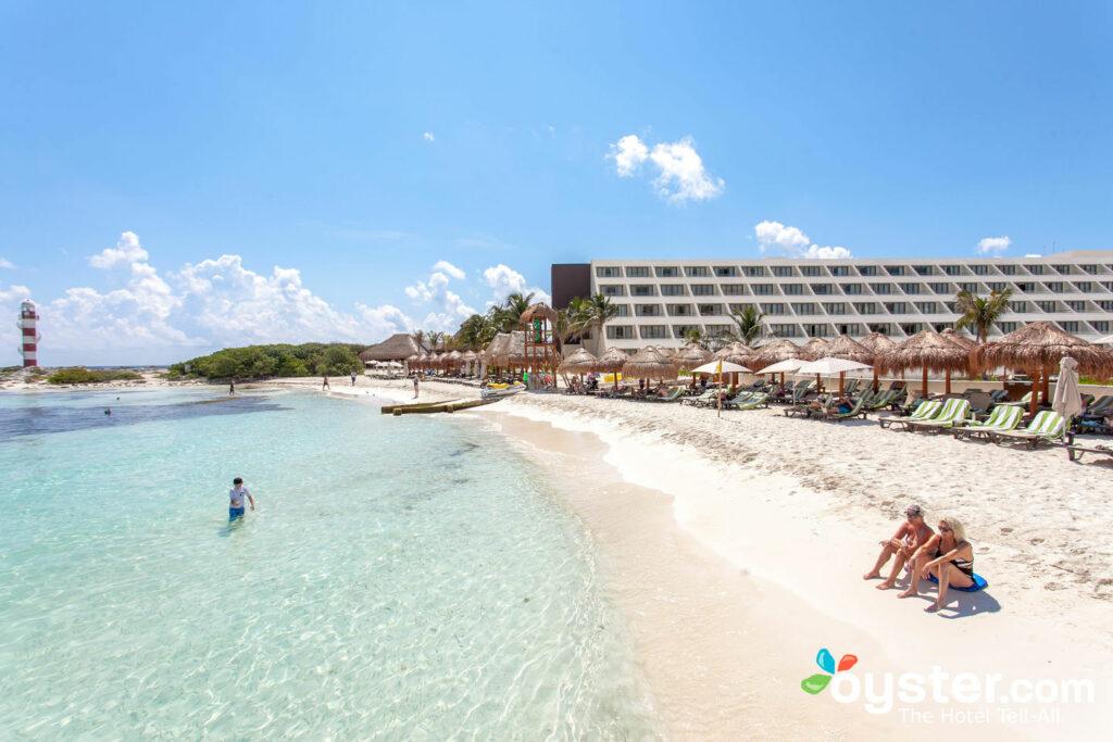 Beach at Hyatt Ziva Cancun