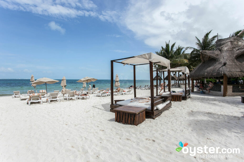 Plage de Villa del Palmar Cancun Beach Resort & Spa / Oyster