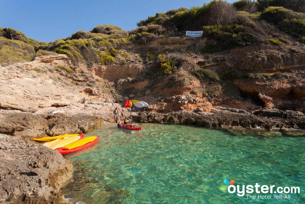 Spiaggia al Villaggio Touring Club Italiano - San Domino / Oyster