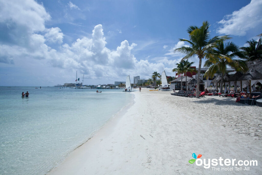 Beach at Temptation Cancun Resort, Mexico