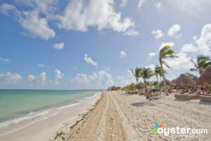 Beach at the Excellence Playa Mujeres in Cancun
