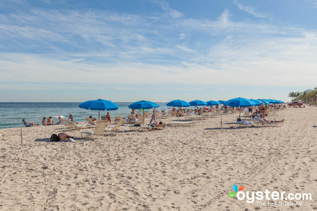 Beach at Sonesta Fort Lauderdale/Oyster