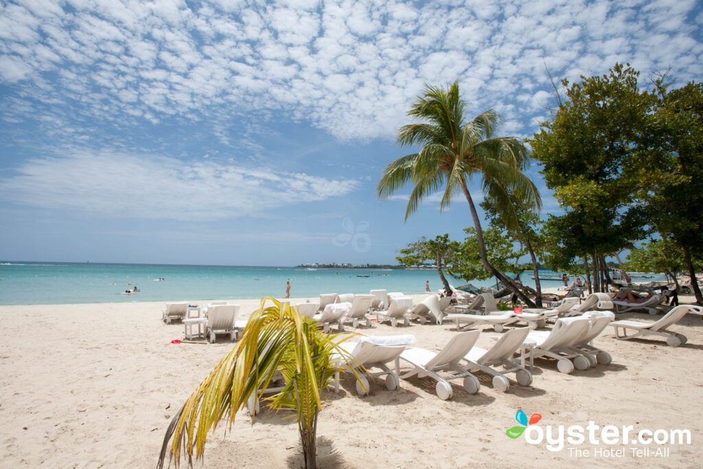 Beach at Couples Negril/Oyster