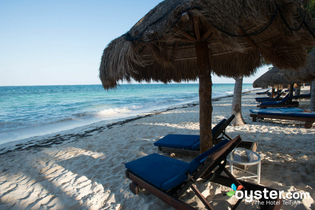 Beach at Desire Pearl Resort and Spa, Riviera Maya