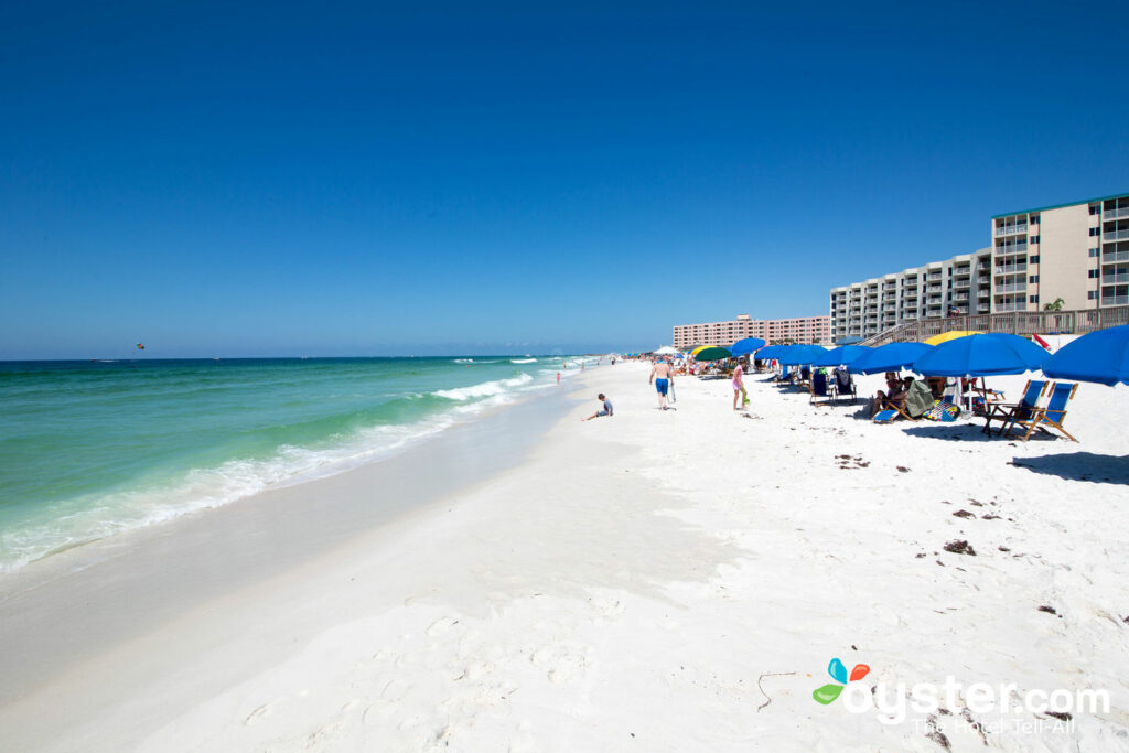 Beach at Holiday Surf and Racquet Club, Destin/Oyster