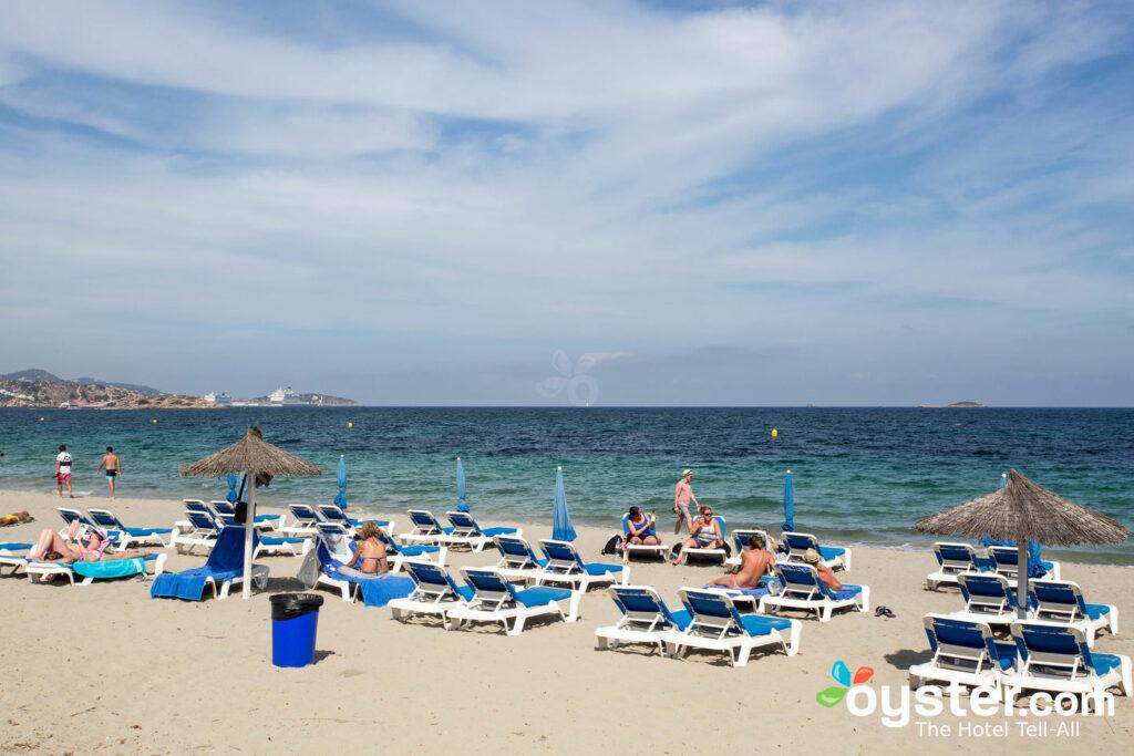 Beach at Hotel Garbi Ibiza & Spa