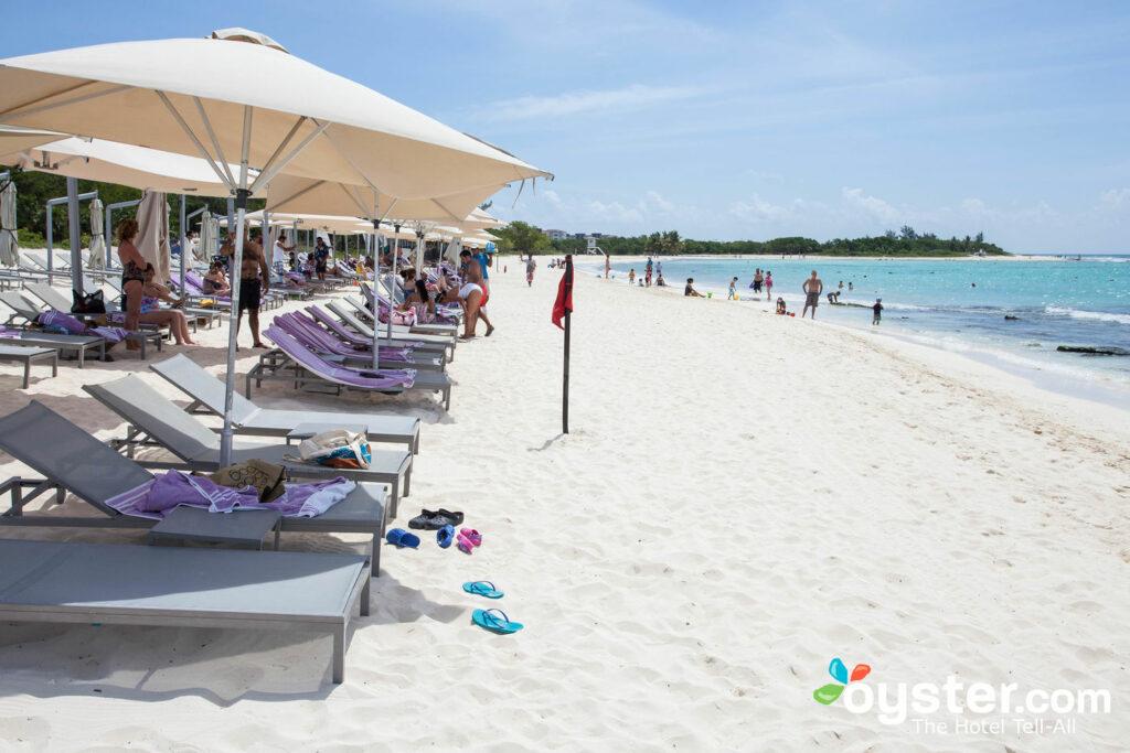 Beach at Paradisus Playa Del Carmen La Esmeralda