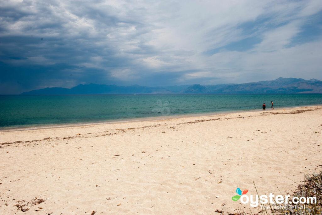 Beach at the Restia Suites in Corfu