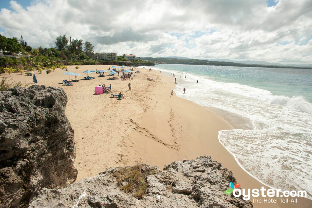 The gorgeous beaches of the Sosua region are a somewhat calmer alternative to the scene in town.