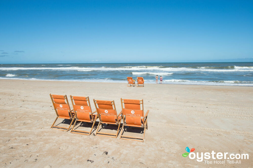 Playa en el Sanderling Resort
