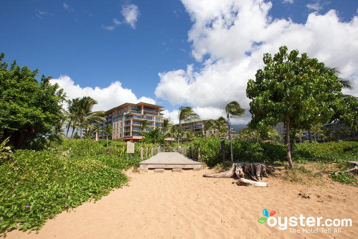 Beach at the Honua Kai Resort & Spa/Oyster