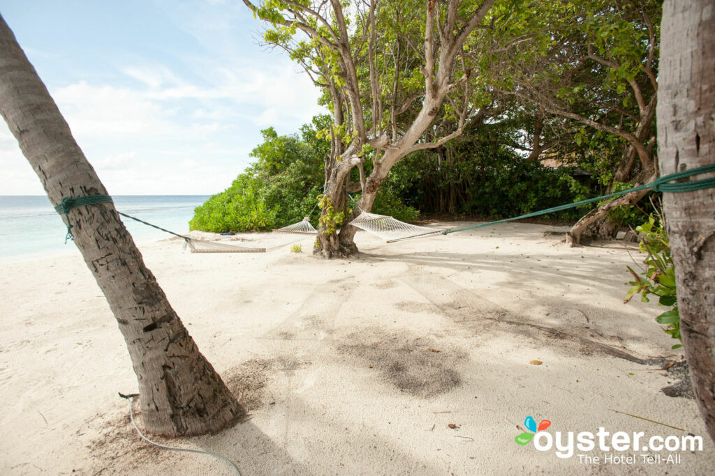 Beach at Soneva Fushi Maldives