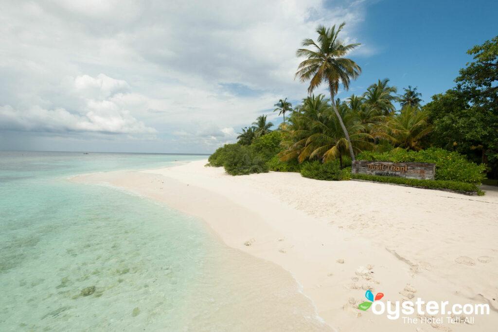 Dusit Thani Maldives beach