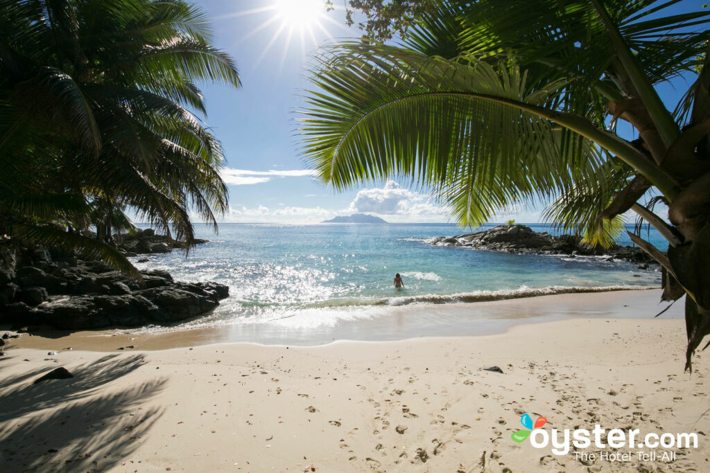 Playa en el Hilton Seychelles Northolme Resort & Spa