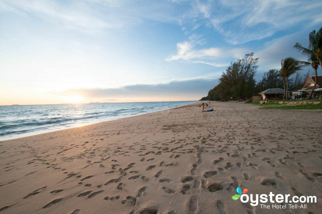 The beach at Lanta Casuarina Beach Resort.