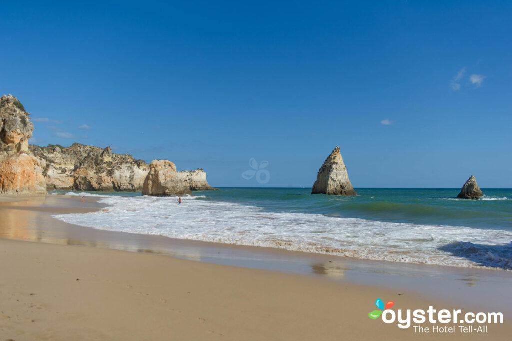 Praia, em, alvor, portugal