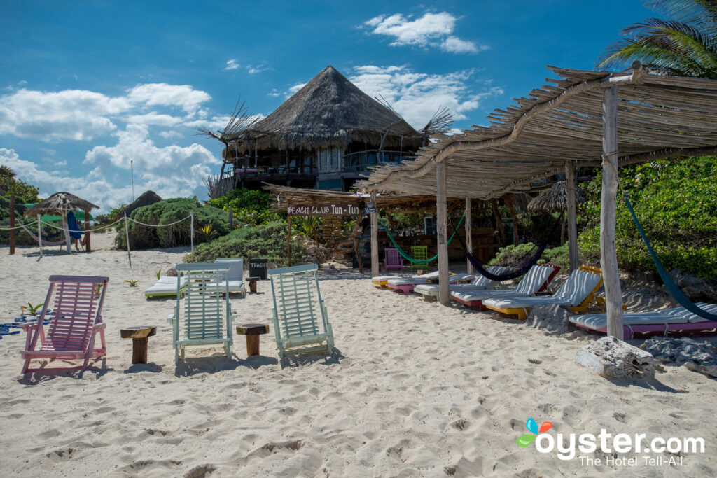 beach at azulik tulum mexico
