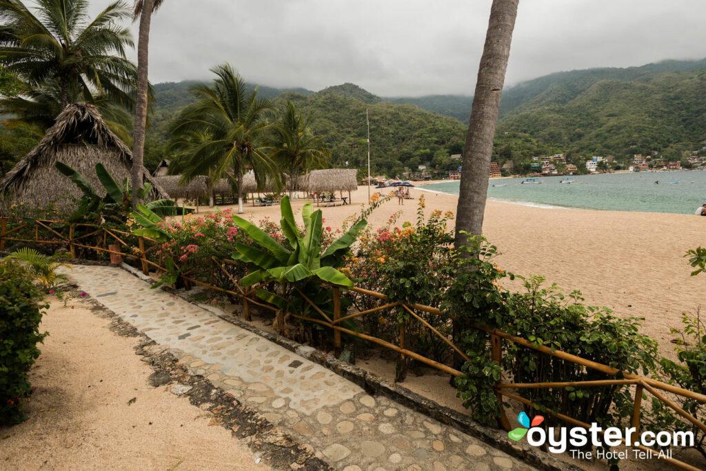 Beach at Hotel Lagunita/Oyster