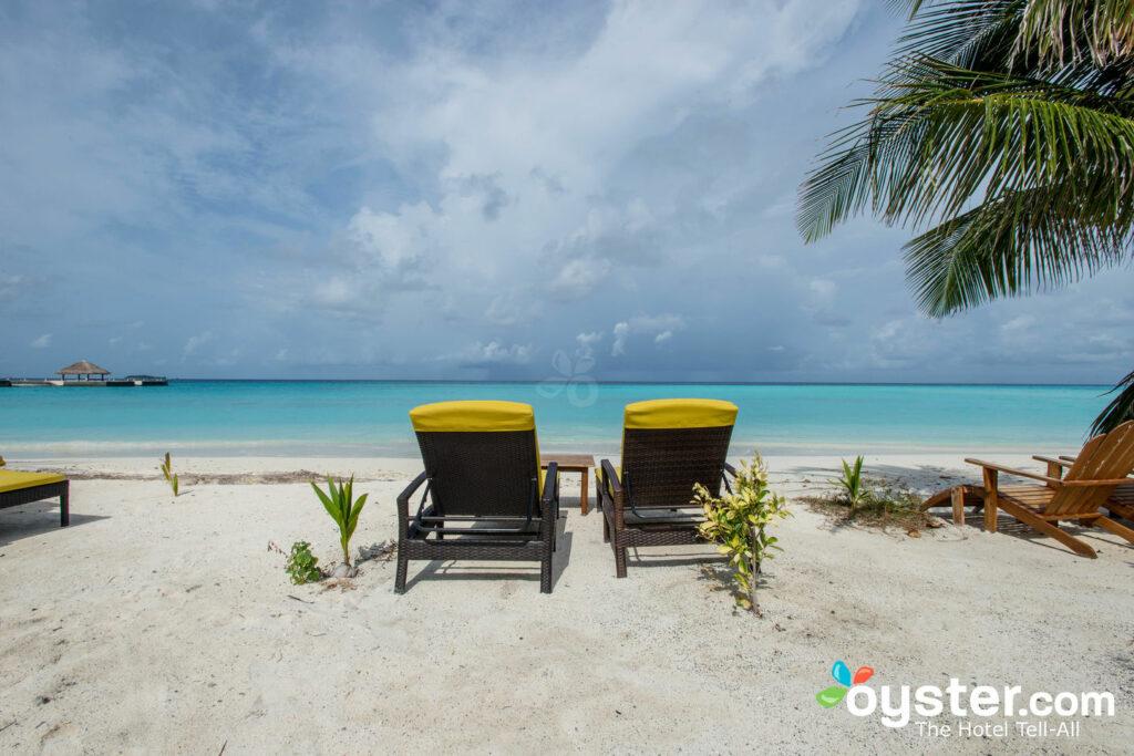 Beach at Summer Island Maldives