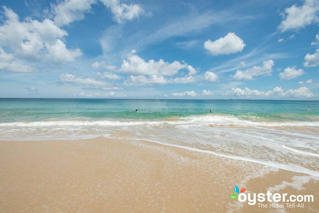 Praia no W Vieques Resort
