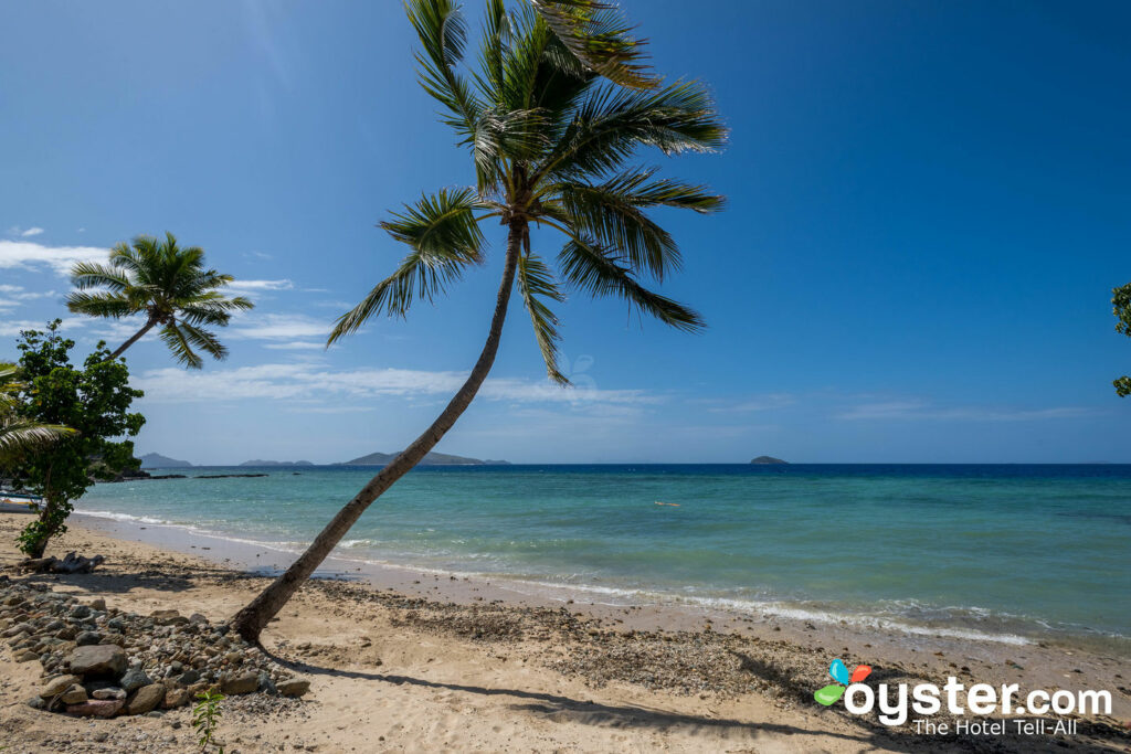 Photo: Beach at the Tadrai Island Resort in Fiji