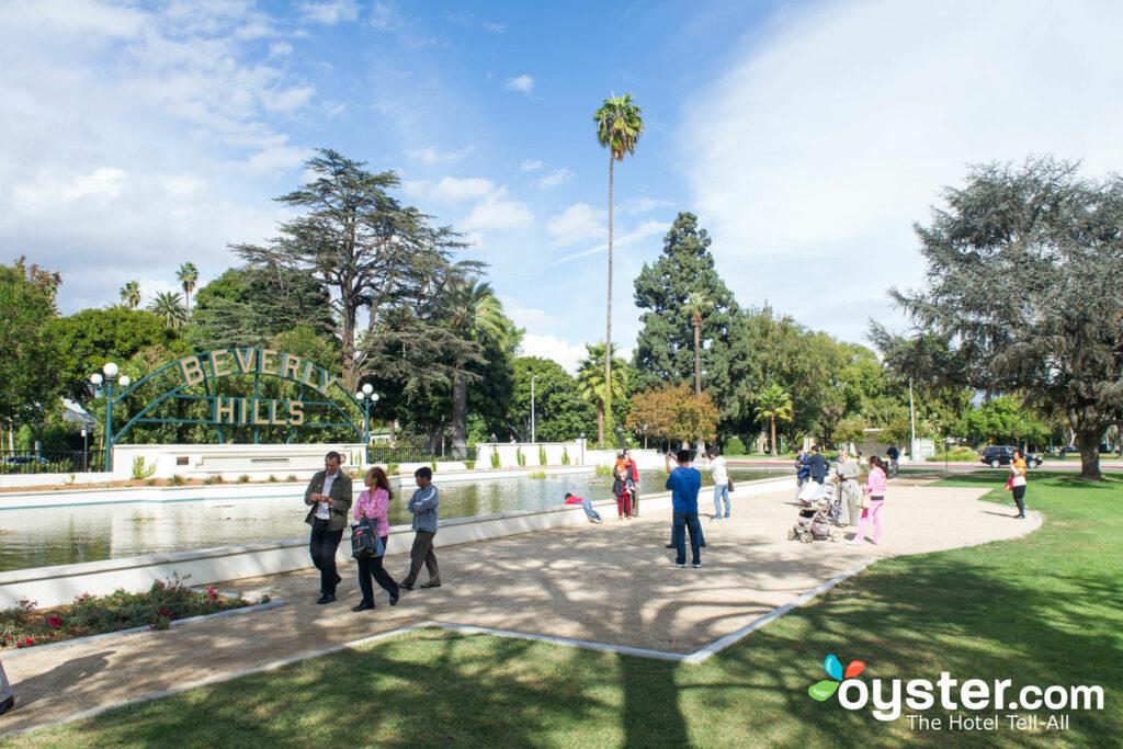 Los Angeles's Beverly Hills neighborhood