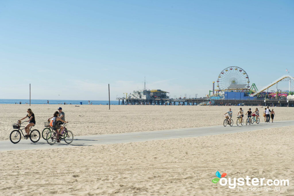 Bike Path, Santa Monica Pier/Oyster